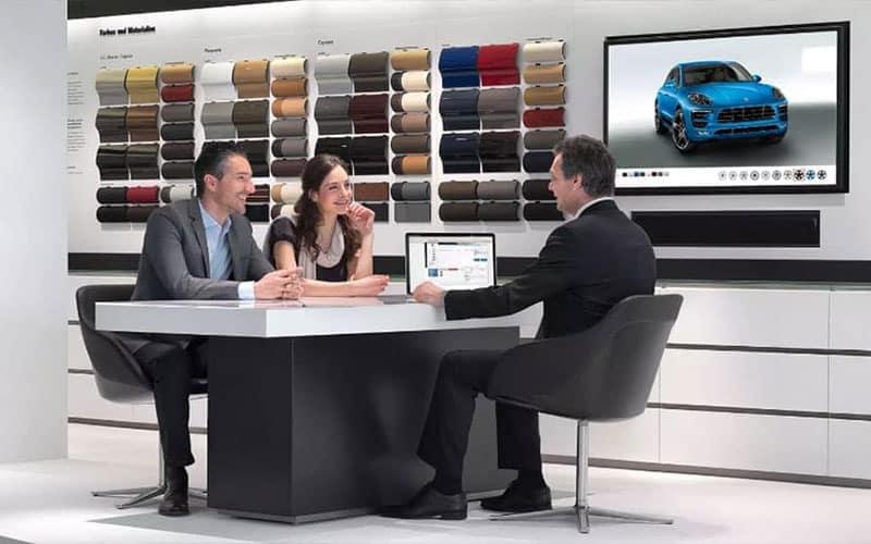 Porsche Fitting Lounge