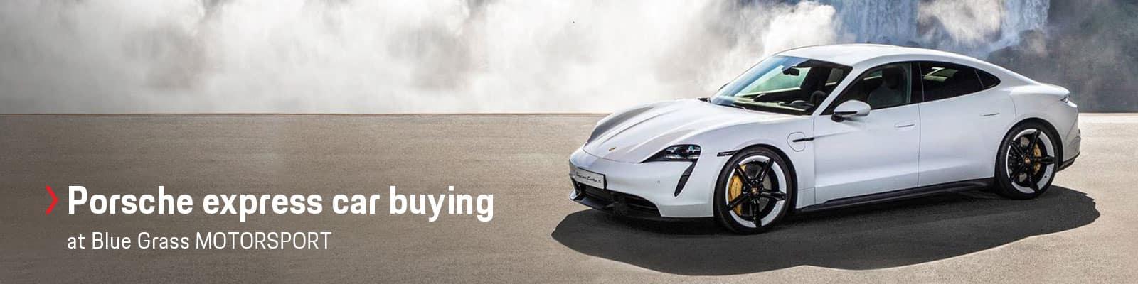 Porsche Express Car Buying