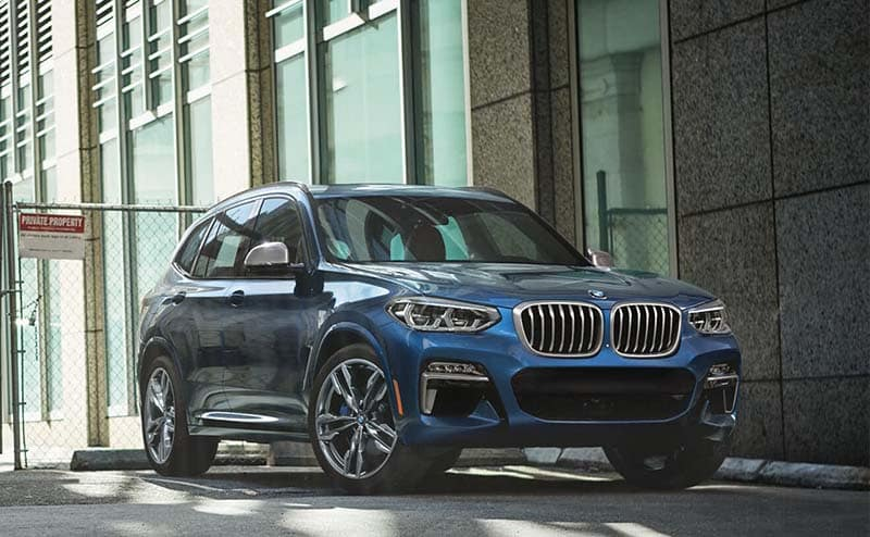 The X3 is a fan-favorite with its convenient luxury for the commute and vacation.