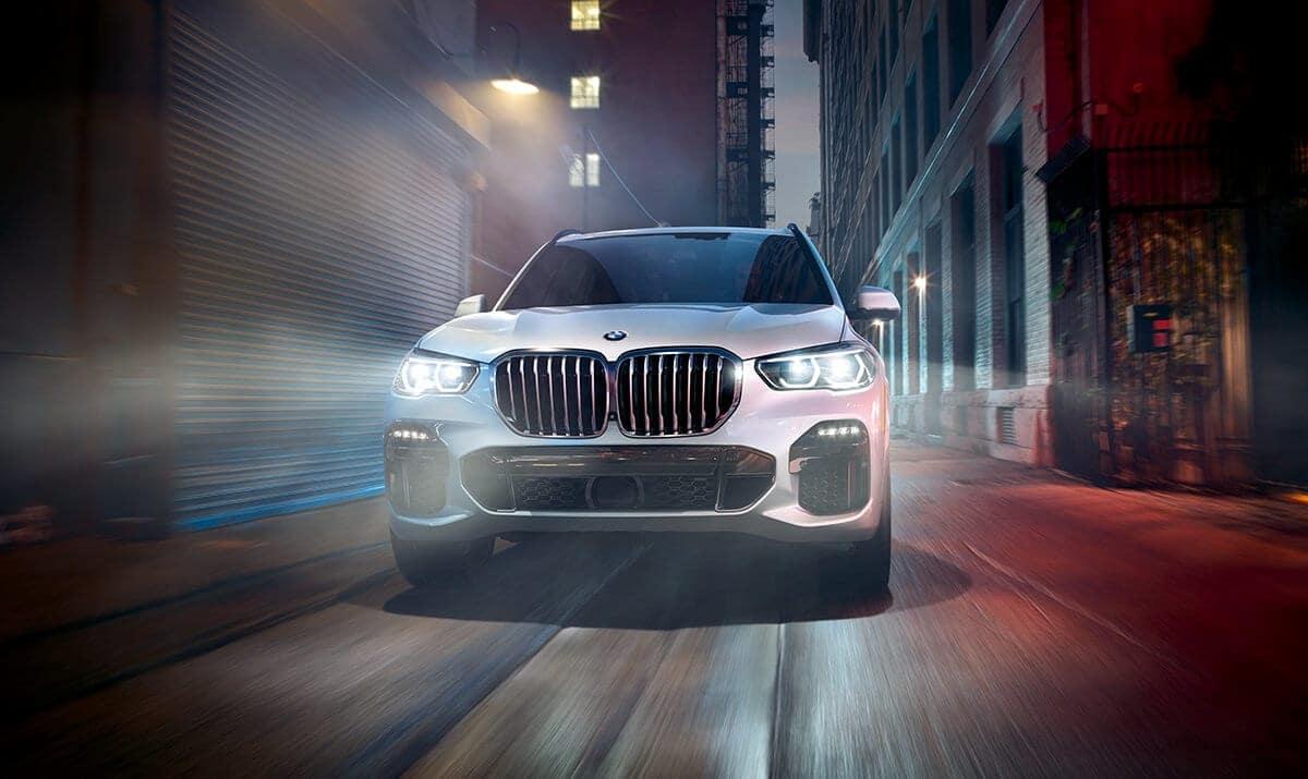 2019 BMW X5 on street