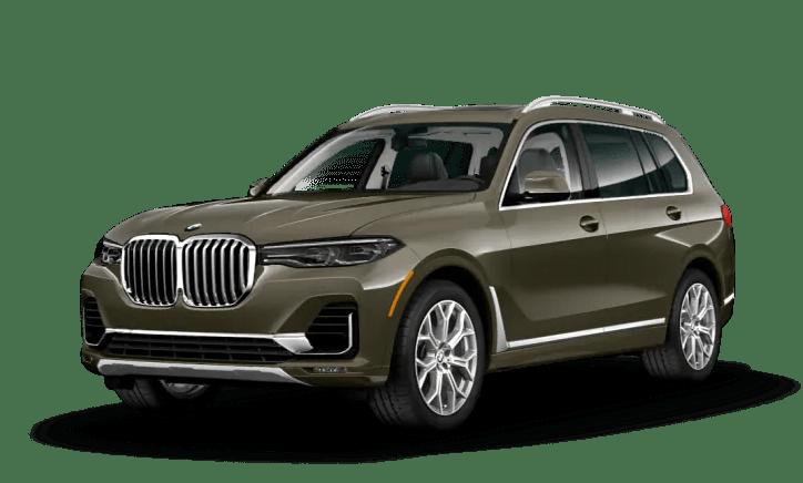 2020 BMW X7 Green