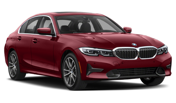 2020 BMW 3 Series pointing right