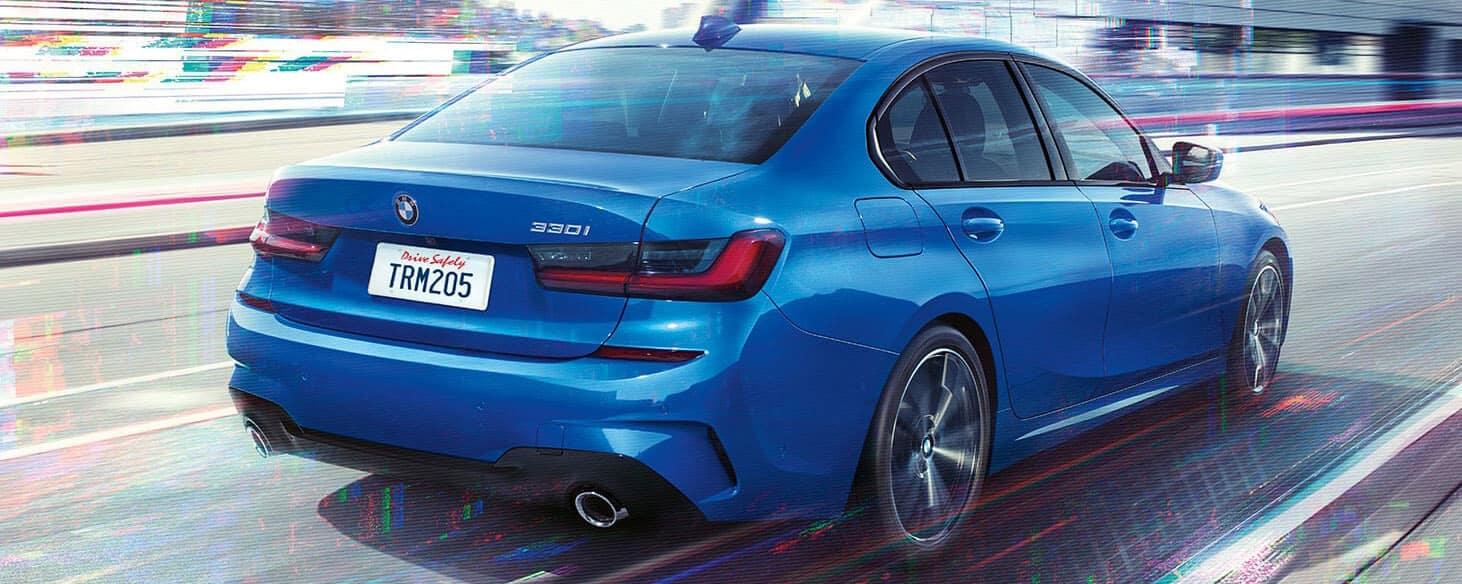BMW 300I blue