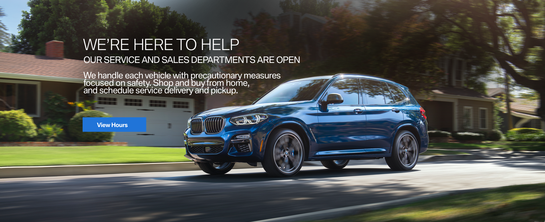 BMW SERVICE AND SALES