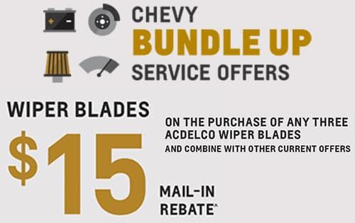 Wiper Blade Rebate