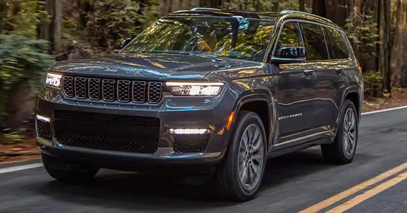 Brad Deery Motors - 2021 Jeep Grand Cherokee L coming to Quad Cities area