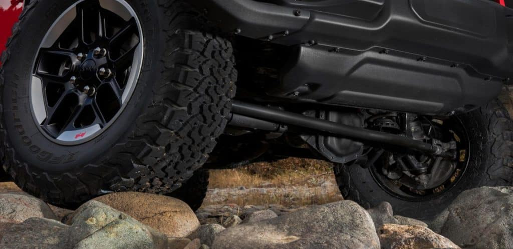 Cape Coral DCJR Jeep Off-Road Features