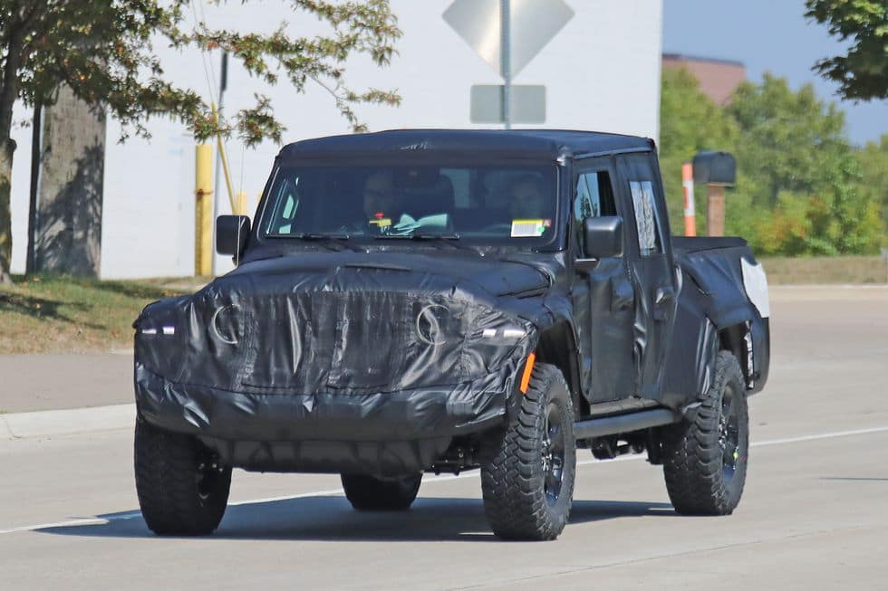 Jeep Scrambler Set To Debut In 2019