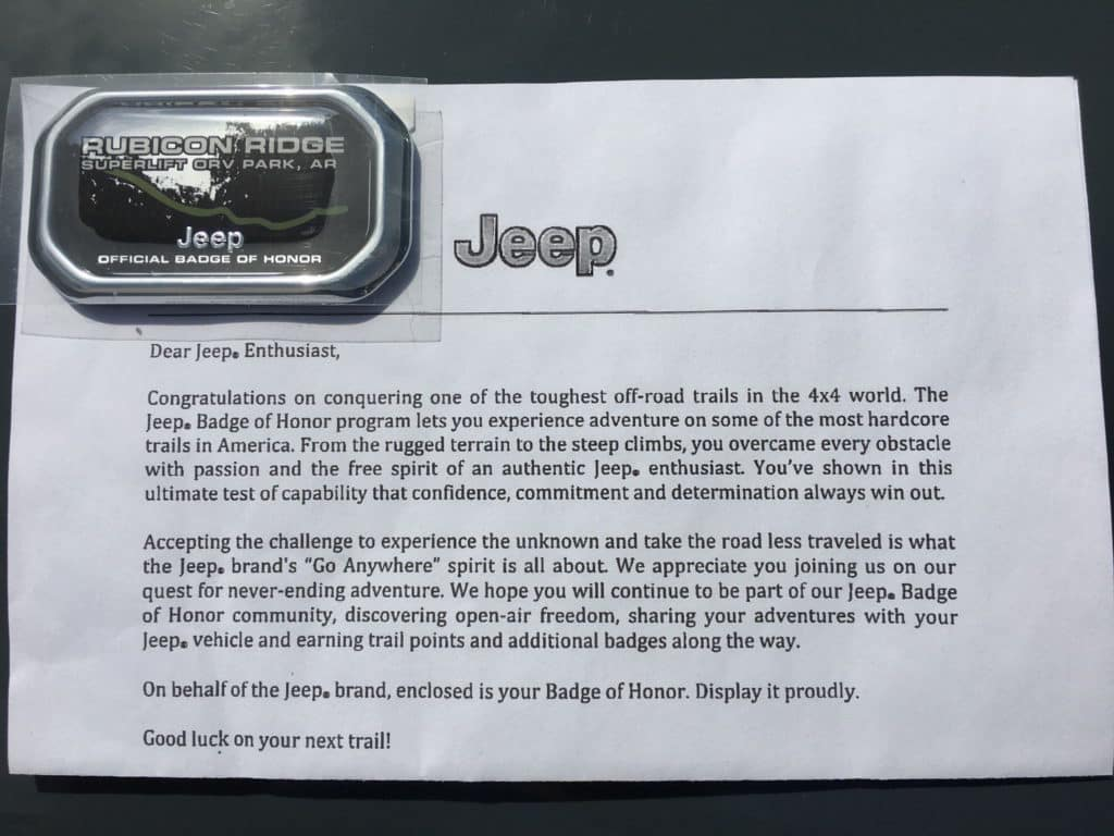 Cape Coral CDJR Jeep Badge of Honor