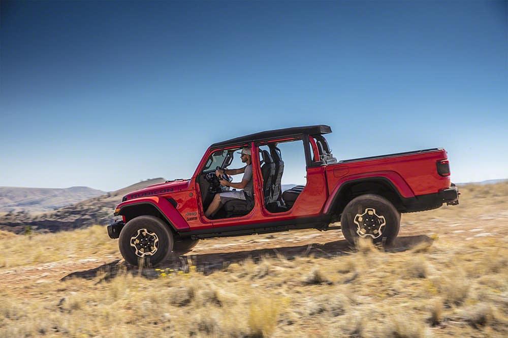 The 2020 Jeep Gladiator Pickup Truck At La Auto Show