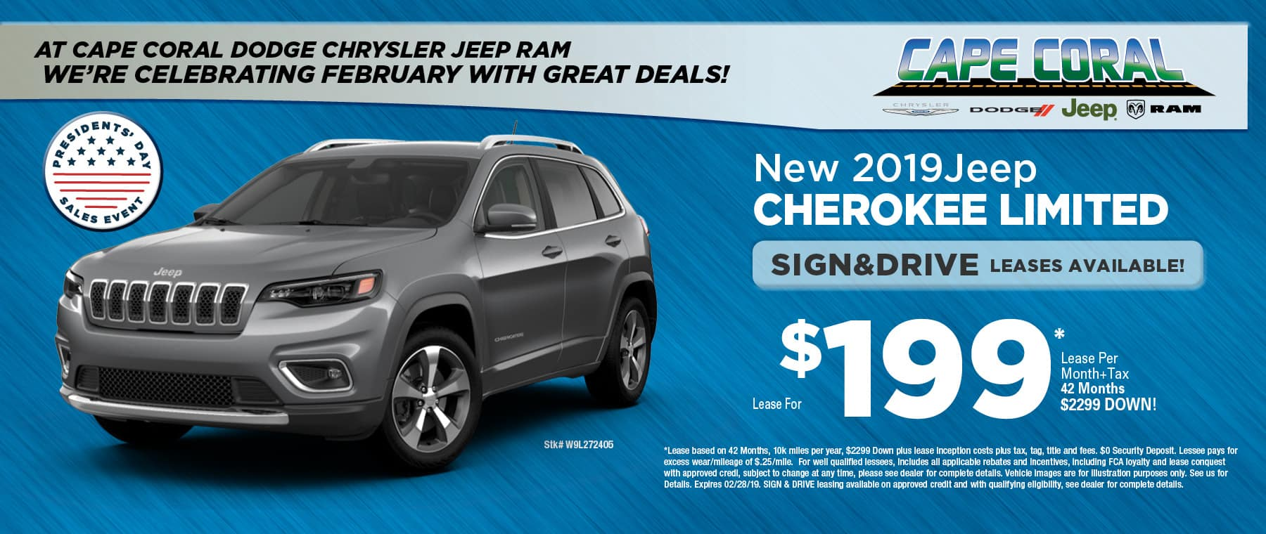 New 2018 Jeep Cherokees - Cape Coral Jeep!