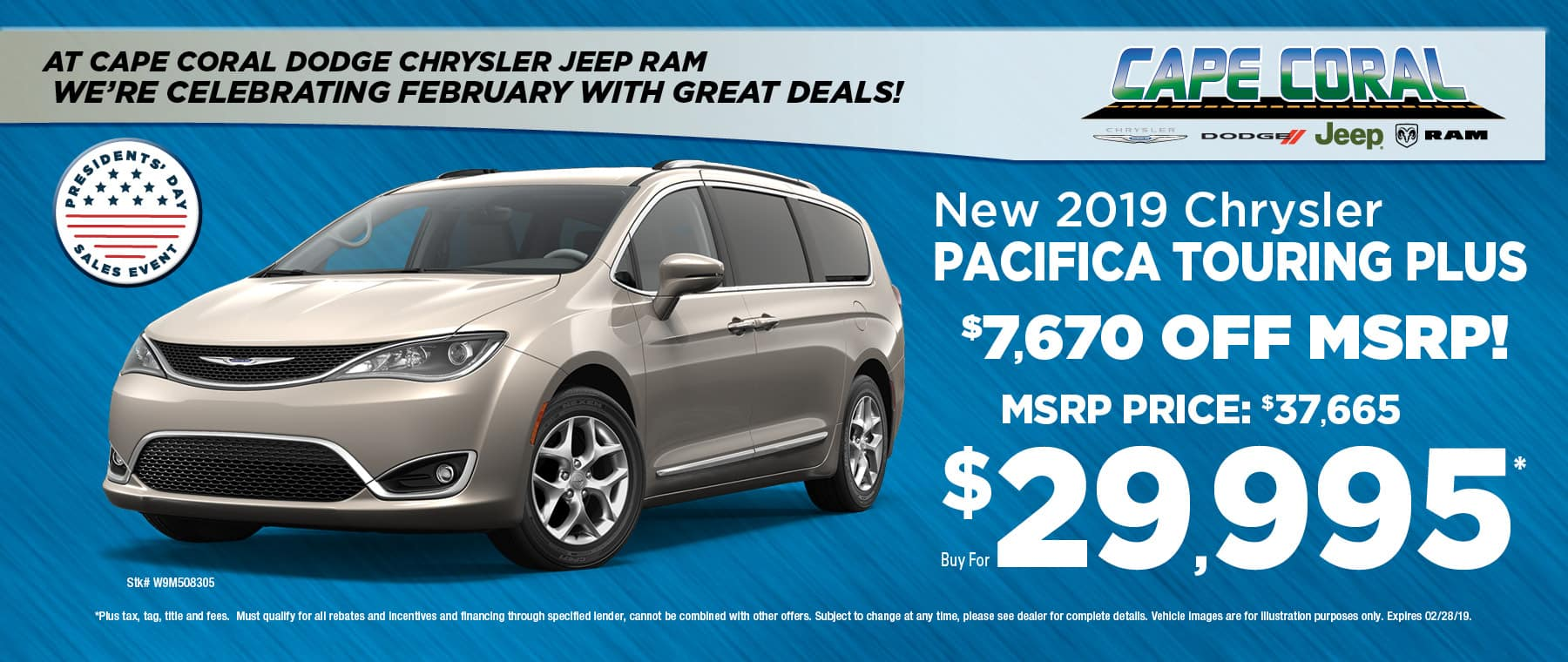 Cape Coral CJDR - Chrysler Pacifica!