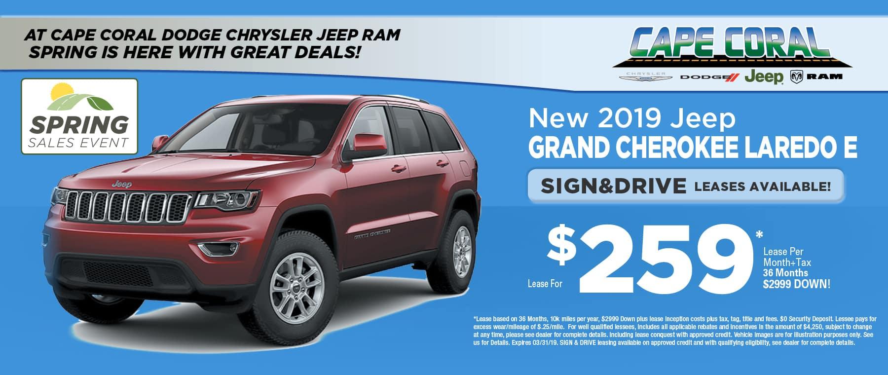 New 2019 Jeep Grand Cherokee!