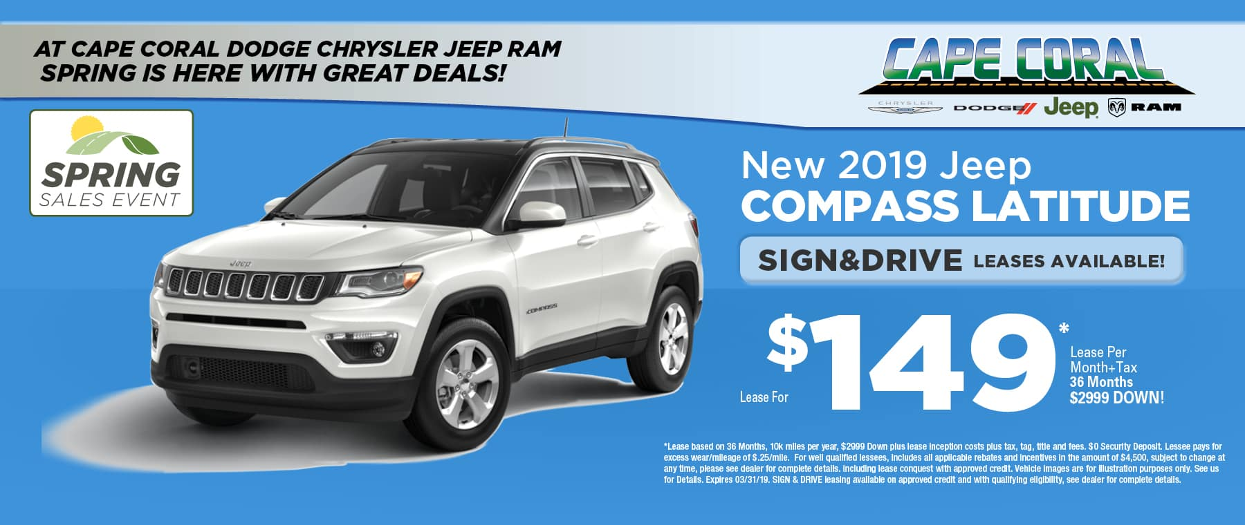New 2019 Jeep Compass!