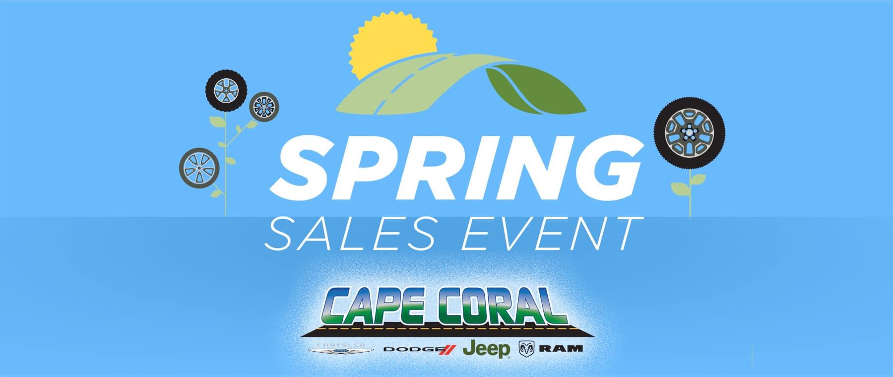 Spring Sales Event!