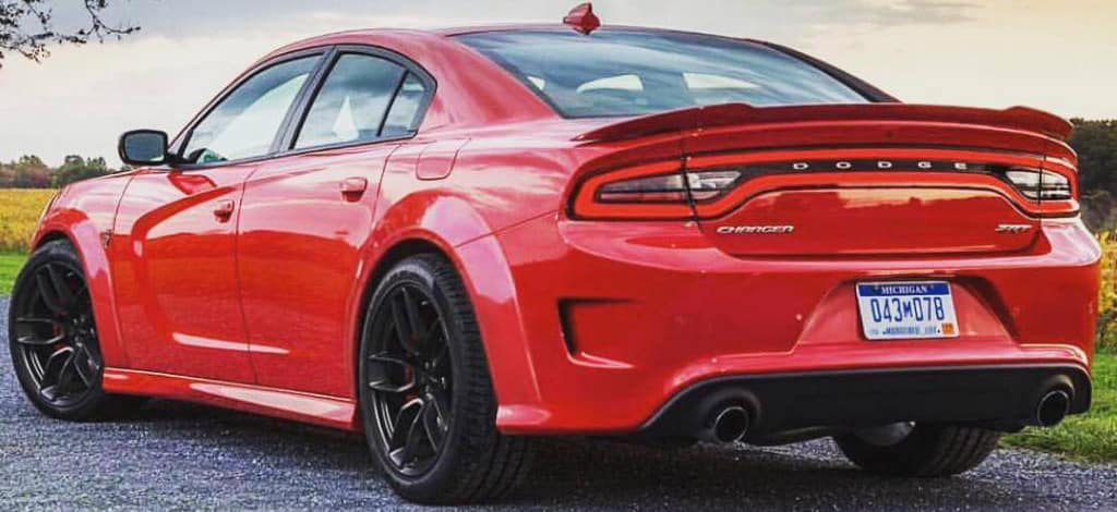 Hellcat charger widebody