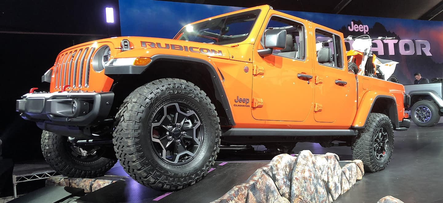 A Jeep Gladiator That May Be Called Hercules