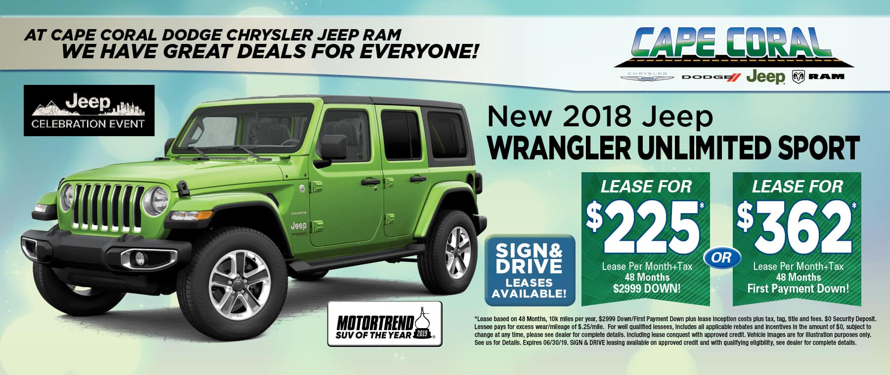 2019 Jeep Wrangler Unlimited!