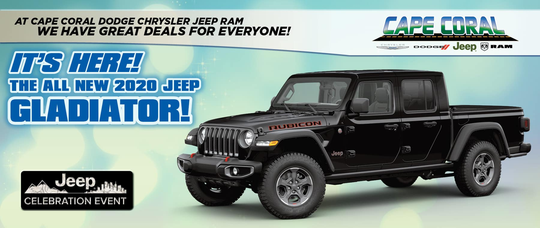 The 2020 Jeep Gladiators Are Here! - Cape Coral Chrysler Jeep Dodge RAM!