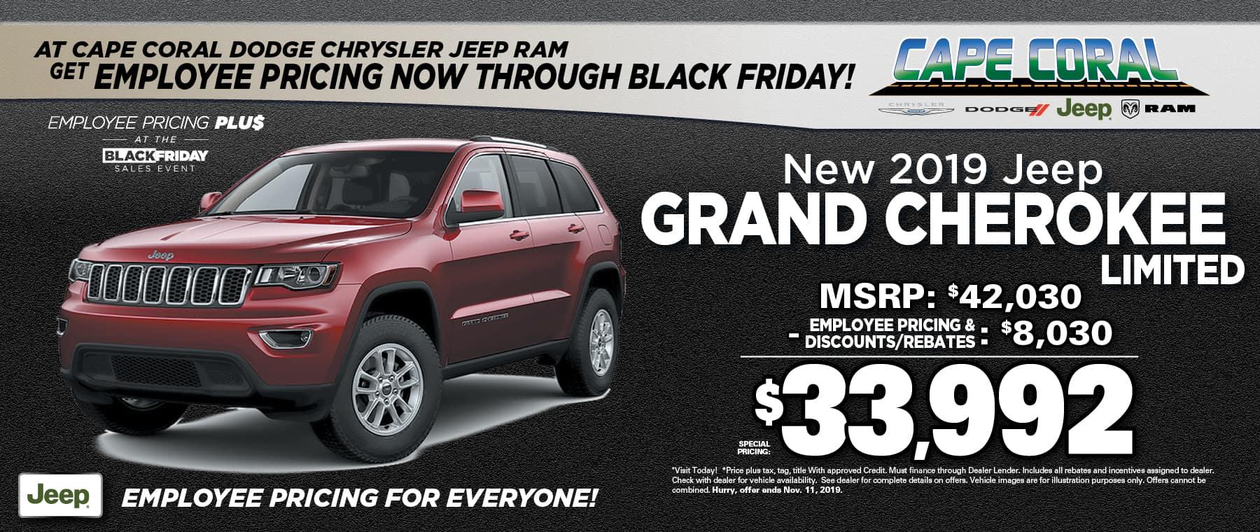 New 2019 Jeep Grand Cherokees!
