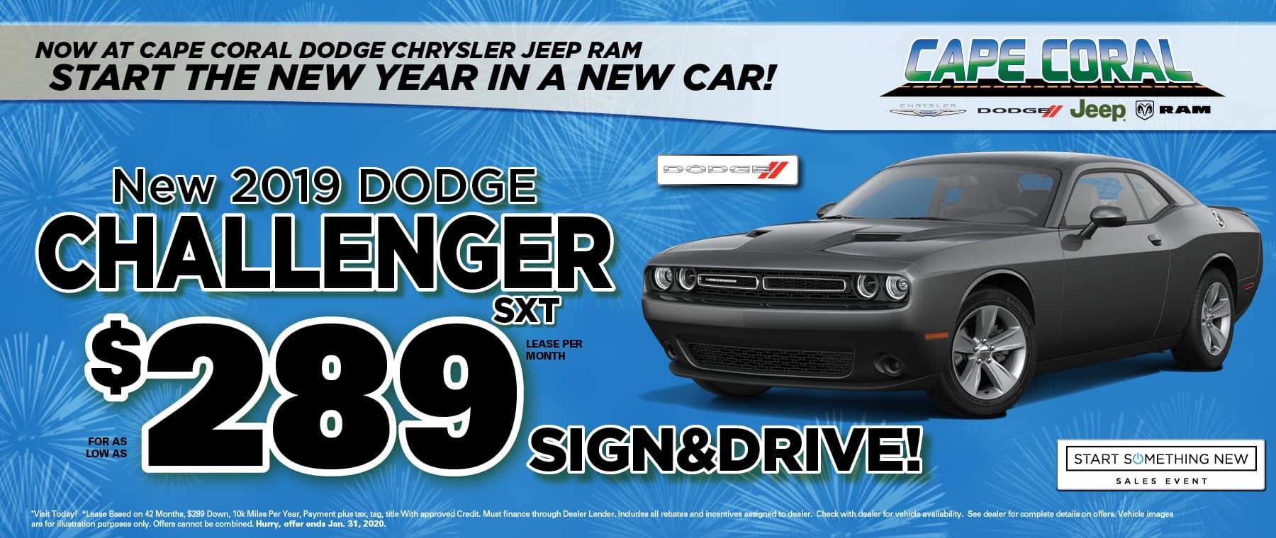 New Dodge Challengers!