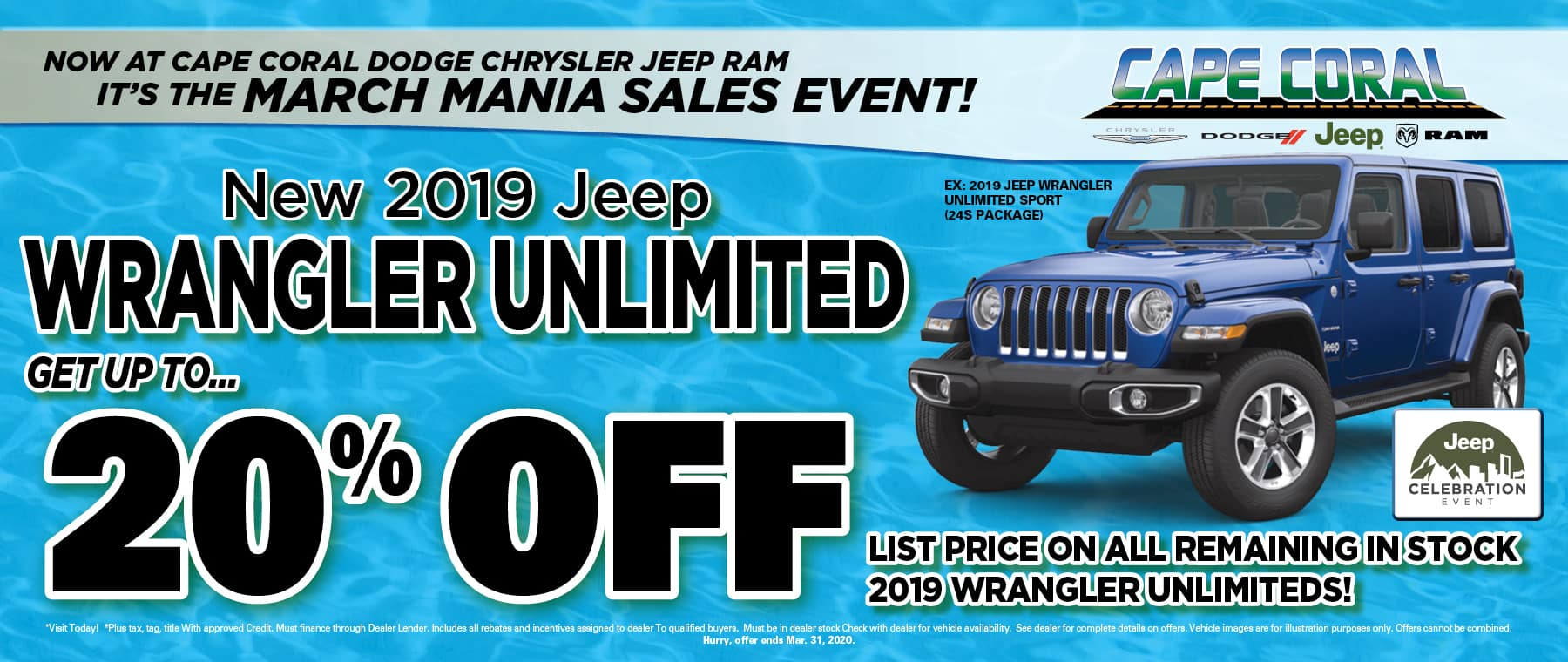 New Jeep Wranglers!