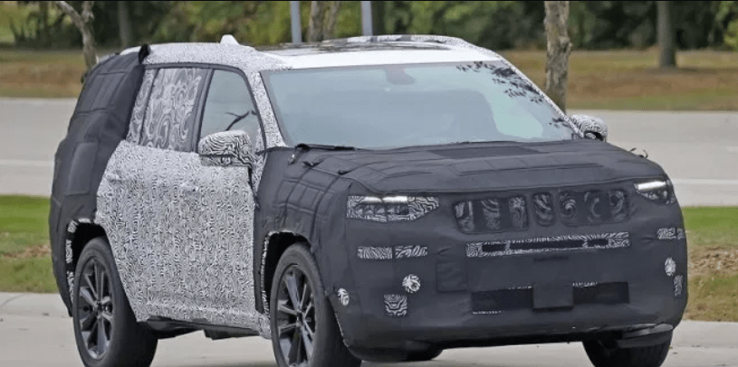 2021 Jeep Grand Cherokee Three-Row And Engine Updates >> The 2021 Jeep Grand Cherokee Has Been Spotted