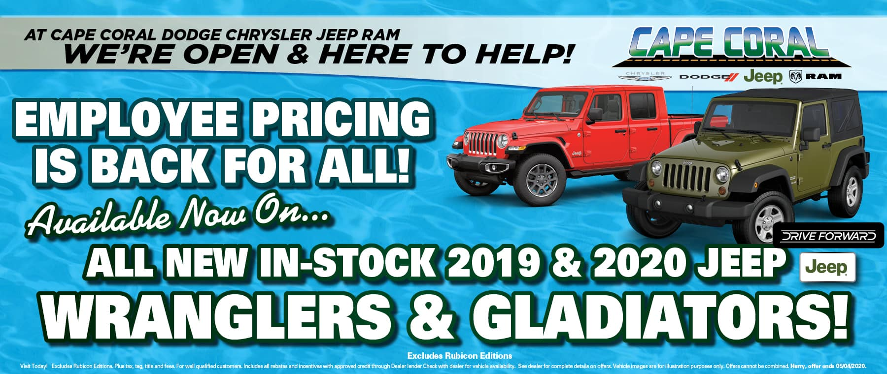 Jeep Employee Pricing For All!