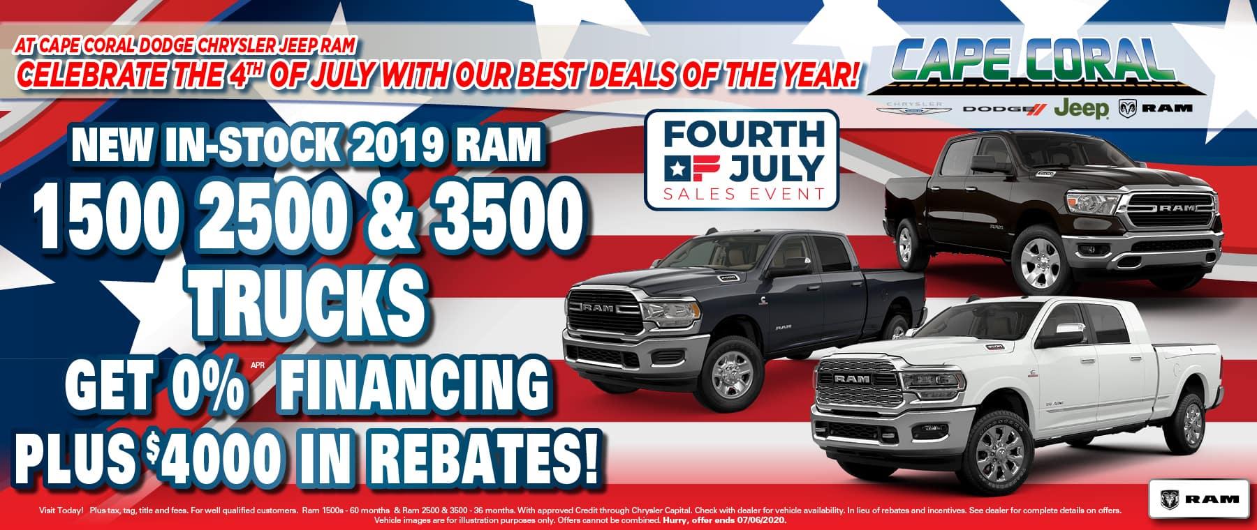 Ram Truck Special Offer!