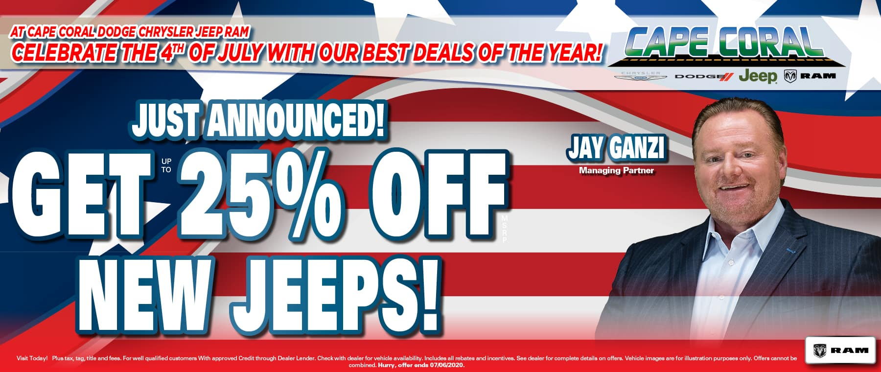 25% Off Jeeps!