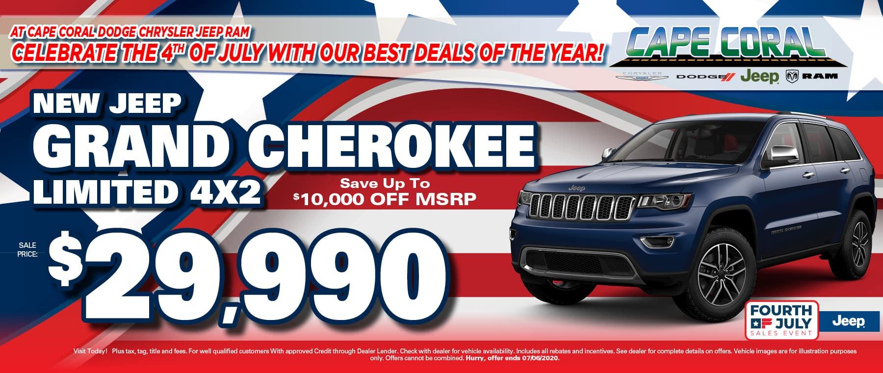 Grand Cherokee Soecial!