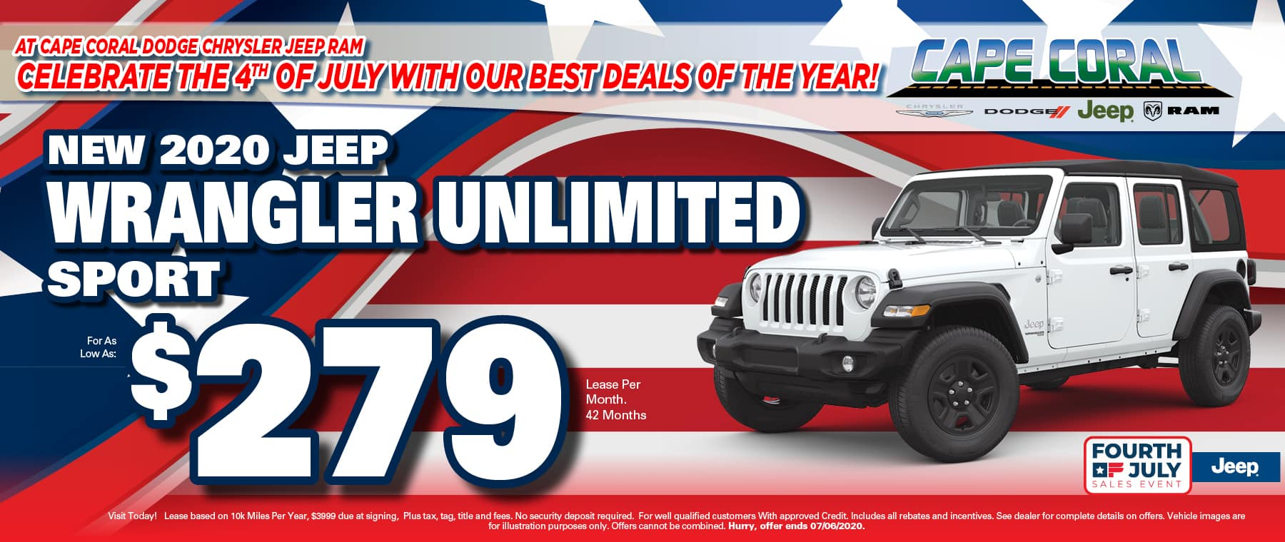 Jeep Wranglers!