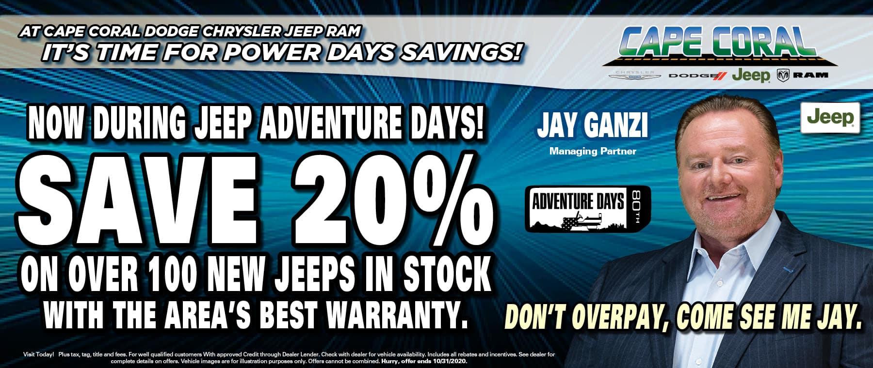 Jeep Adventure Days!