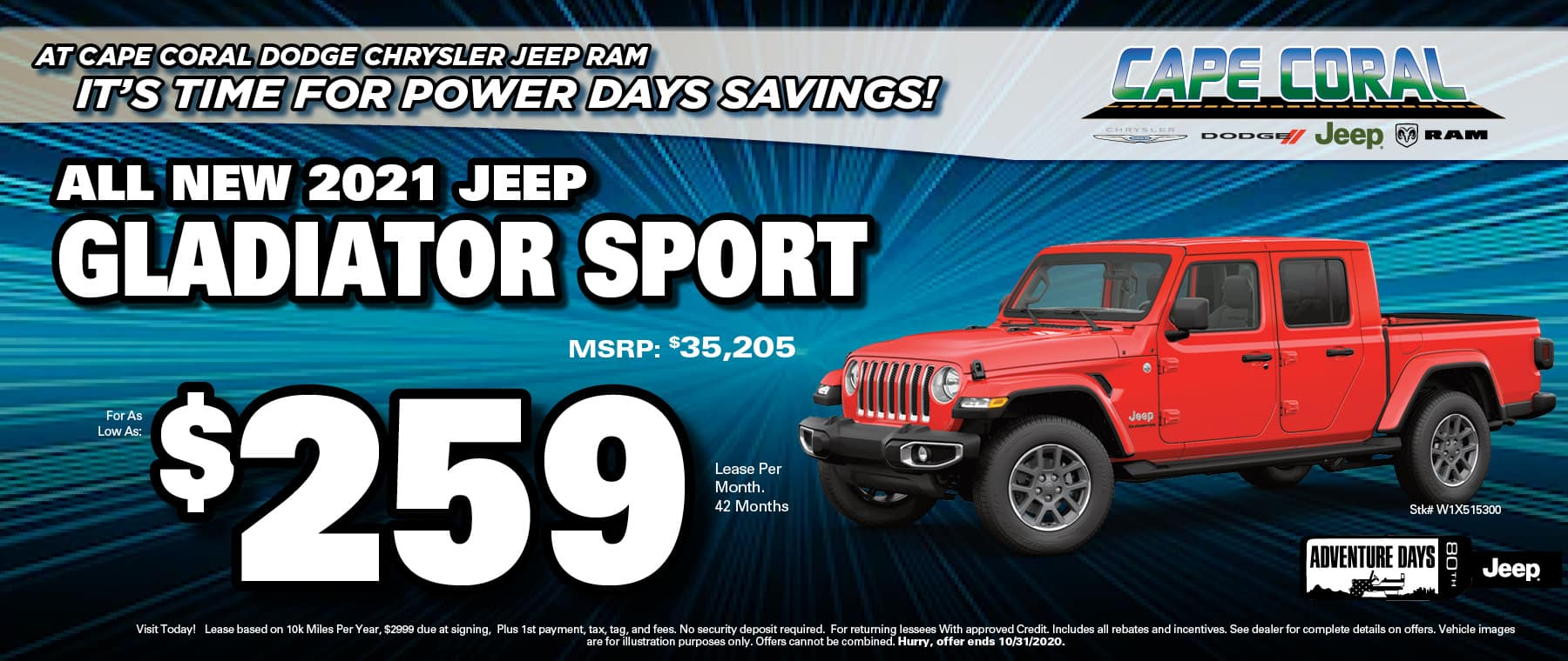 Jeep Gladiator Special!