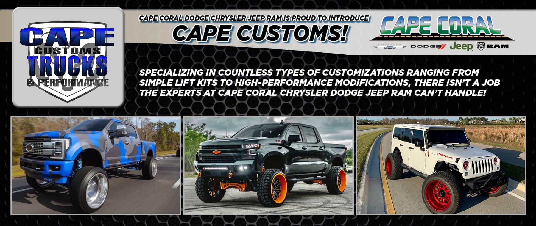 Cape Customs!
