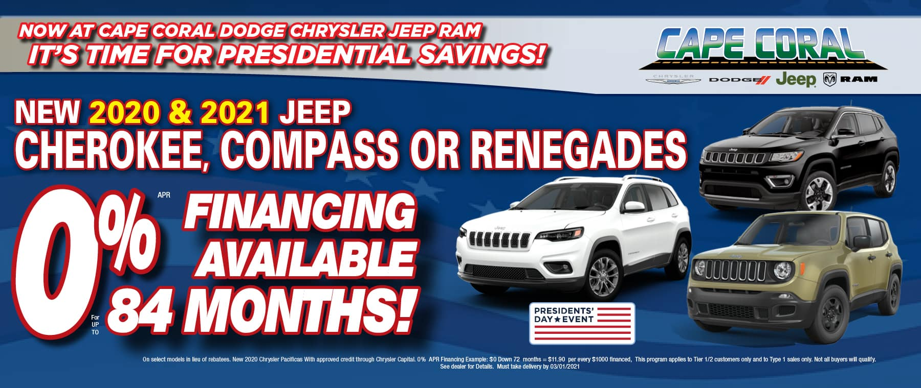 0% Financing On Jeeps