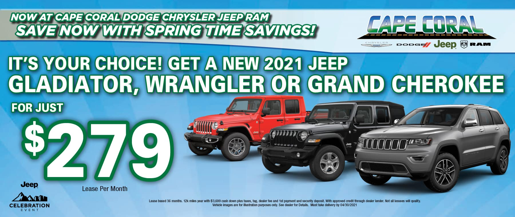 New Jeeps!