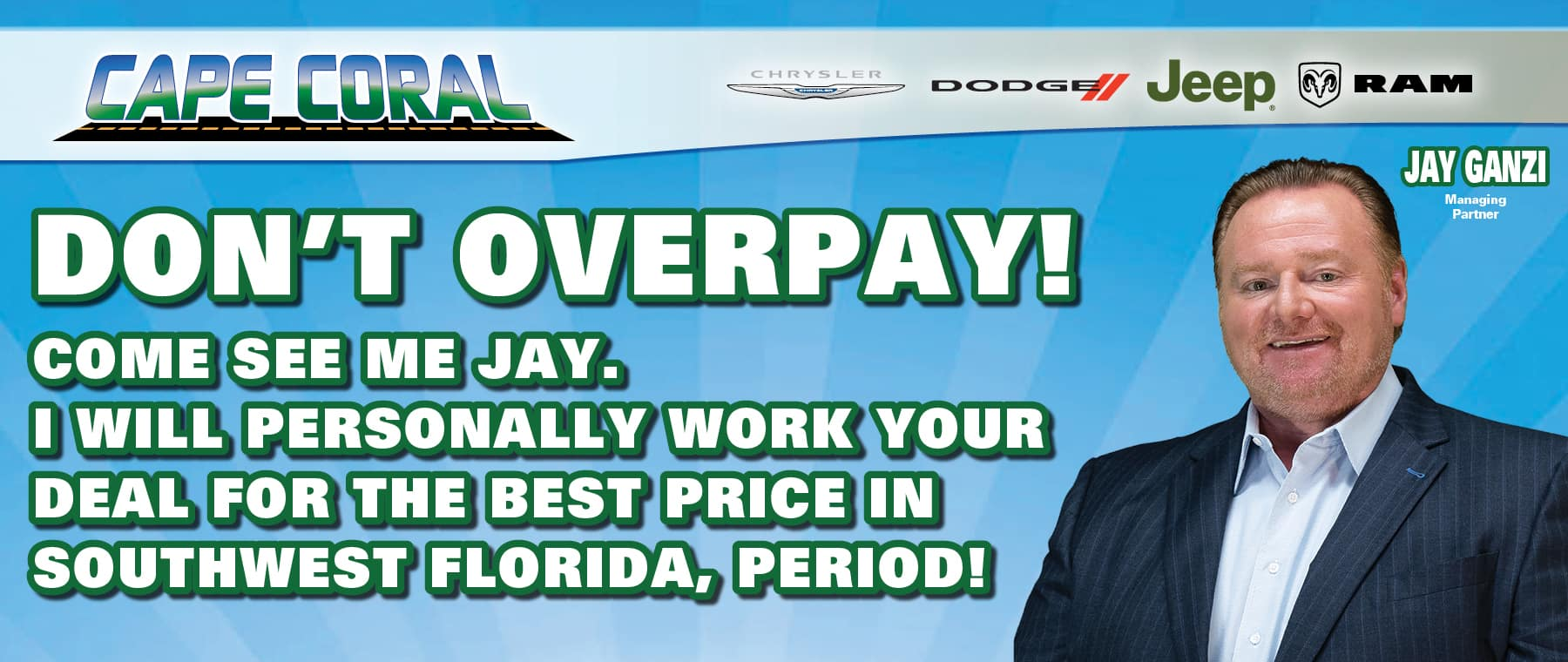 Don't Over Pay!