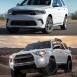2021 Toyota 4Runner vs 2021 Dodge Durango