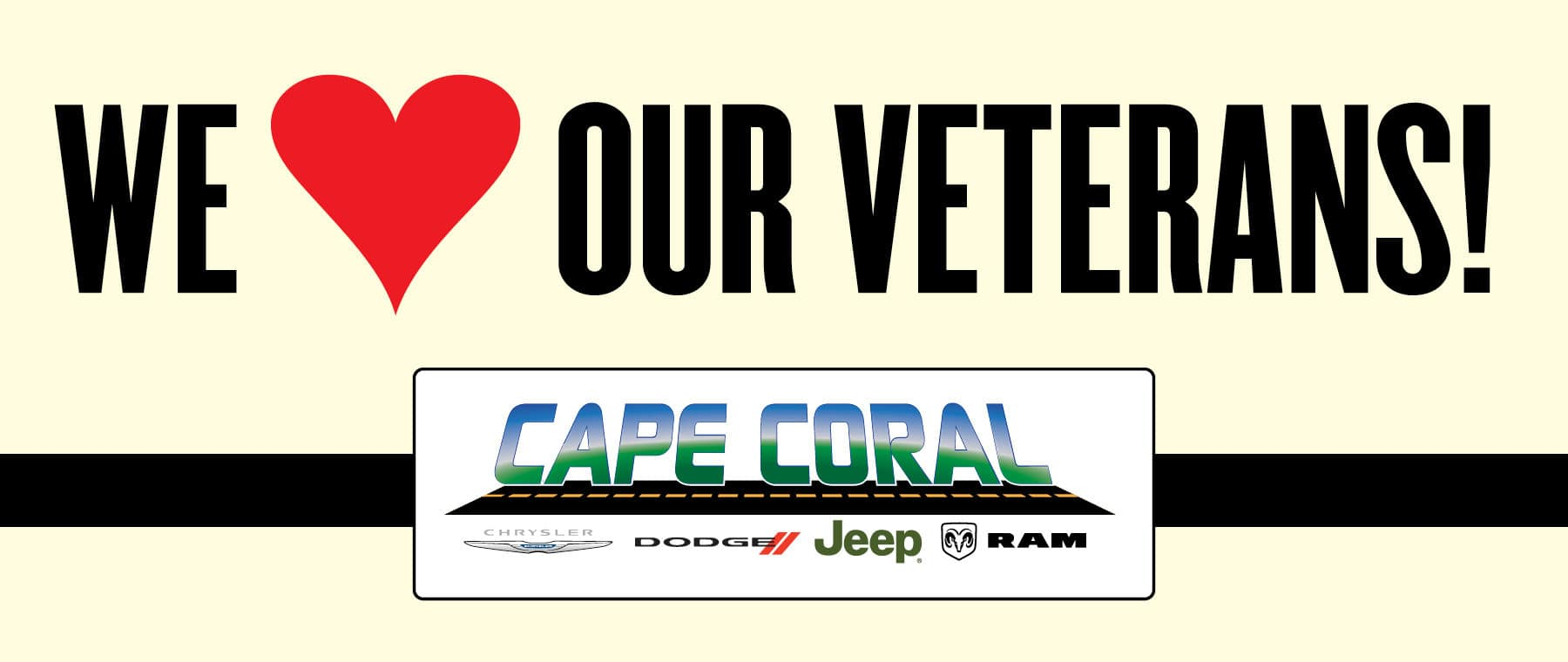 We Love Our Veterans!