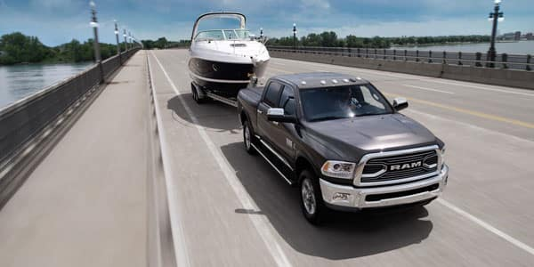 Ram 2500 Towing a Boat