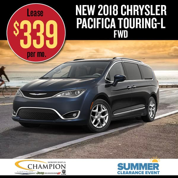 Chrysler Pacifica Touring special