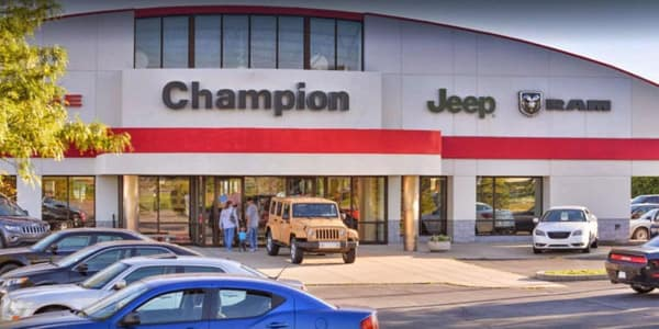 Why buy your car, truck, or van from Champion CDJR in Lebanon, IN