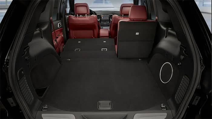 2019 Jeep Grand Cherokee Cargo Space