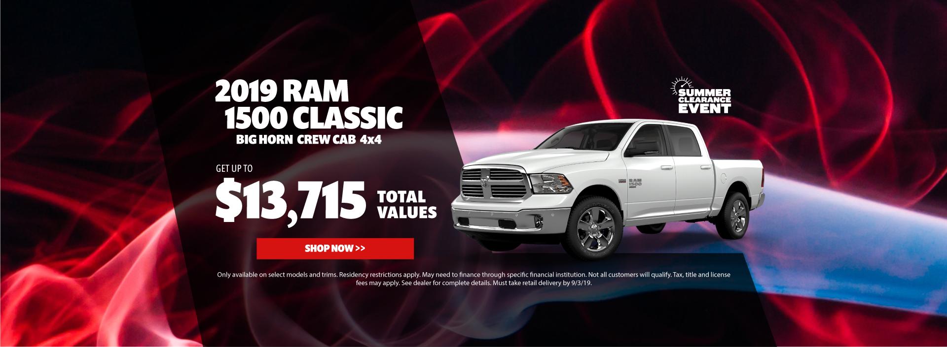 2019 Ram 1500 Classic Special