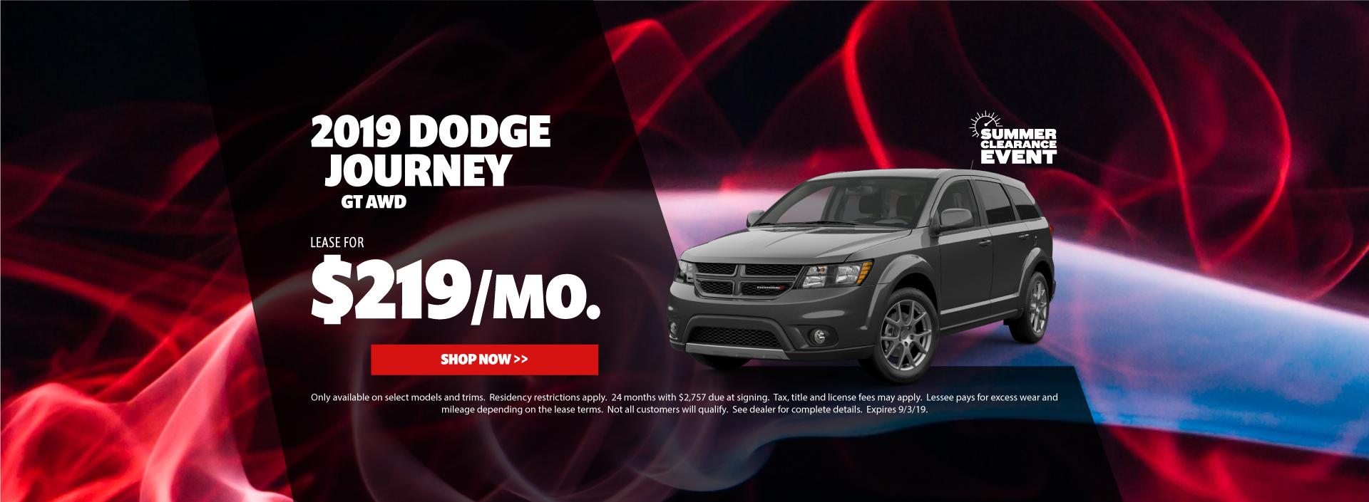 2019 Dodge Journey Special
