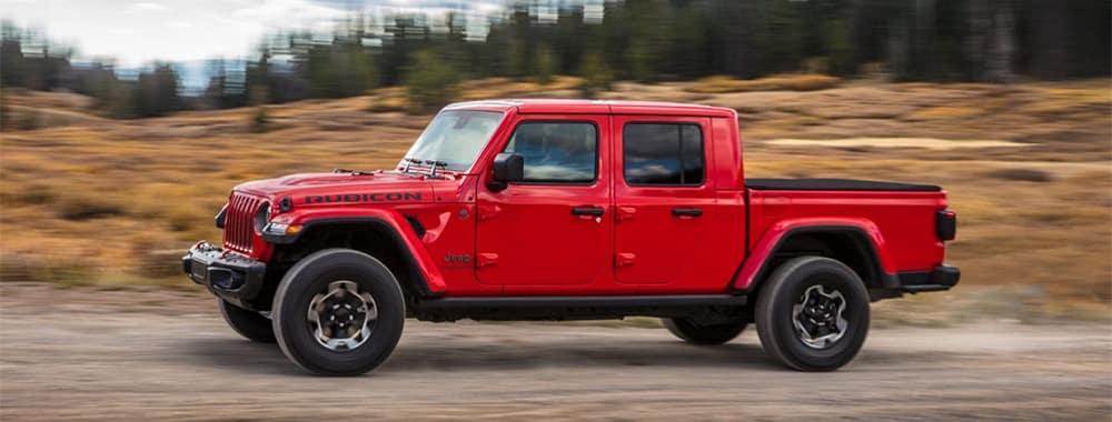2020 Jeep Gladiator Rubicon Driving