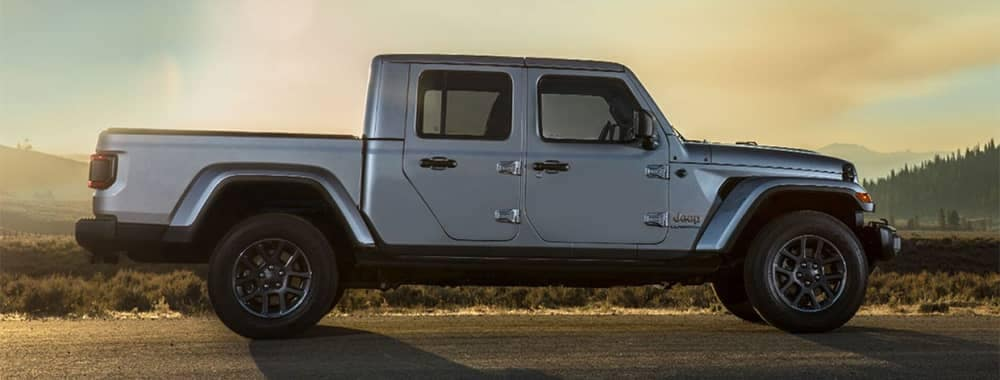 2020 Jeep Gladiator Side Profile View