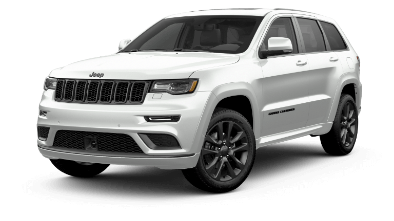 2020 Jeep Grand Cheerokee High Altitude in white
