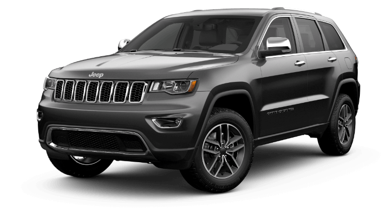 2020 Jeep Grand Cherokee Limited in dark gray